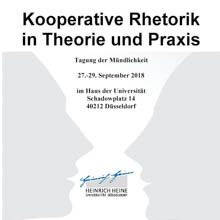 "Kooperative Rhetorik in Theorie und Praxis 2018 // Workshop ""World Café"""